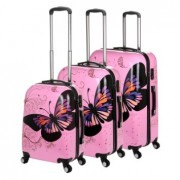 Butterfly Travel Luggage Set
