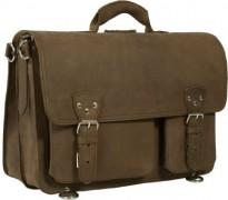 Crazy horse briefcase