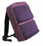 Purple Polka-dot Laptop Backpack