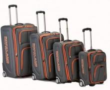 Rockland Luggage Varsity Polo Equipment 4 Piece Luggage Set