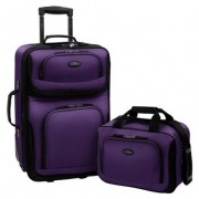 Two Piece Expandable Carry-On Luggage Set