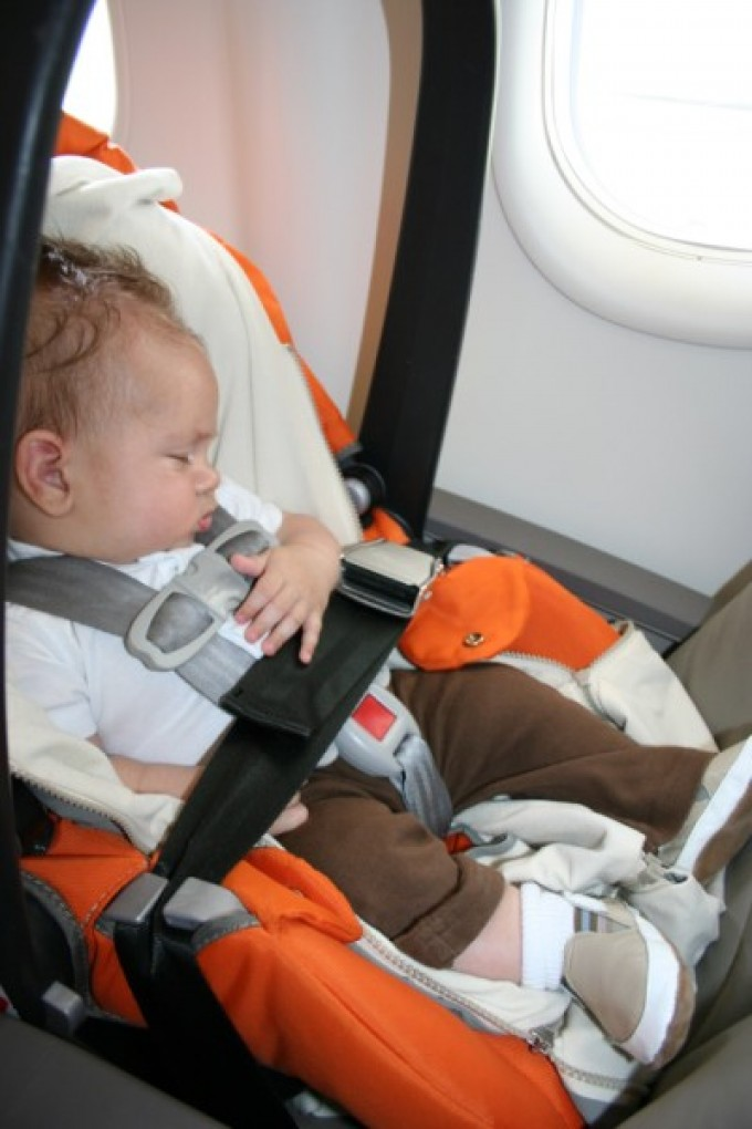 How old does a baby have to be for the first flight