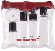 7 Piece Air Travel Bottle Set