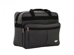 Grey hand luggage