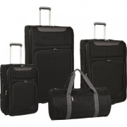Nautica Bunnel 4 Piece Luggage Set