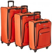 Orange Luggage 3 piece set